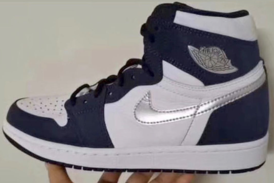 Air Jordan 1 Japan Midnight Navy Metallic Silver DC1788-100 2020 Release Date