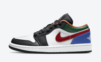 Air Jordan 1 Low Multi-Color CZ4776-101 Release Date Info