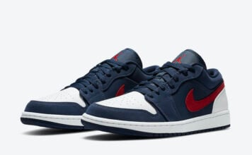 Air Jordan 1 Low USA CZ8454-400 Release Date Info