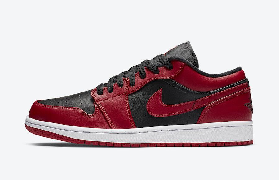 Air Jordan 1 Low Varsity Red 553558-606 Release