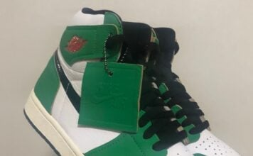 Air Jordan 1 Lucky Green DB4612-300