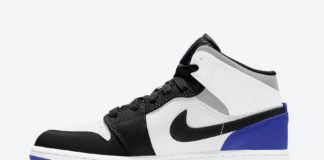 Air Jordan 1 Mid GS Blue Black White Grey BQ6931-102 Release Date Info