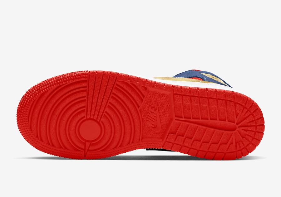 Air Jordan 1 Mid GS Olympic USA BQ6931-104 Release Date Info