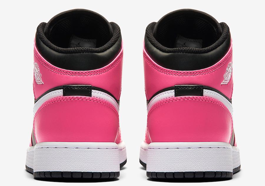 Air Jordan 1 Mid GS Pinksicle 555112-002 Release Date Info
