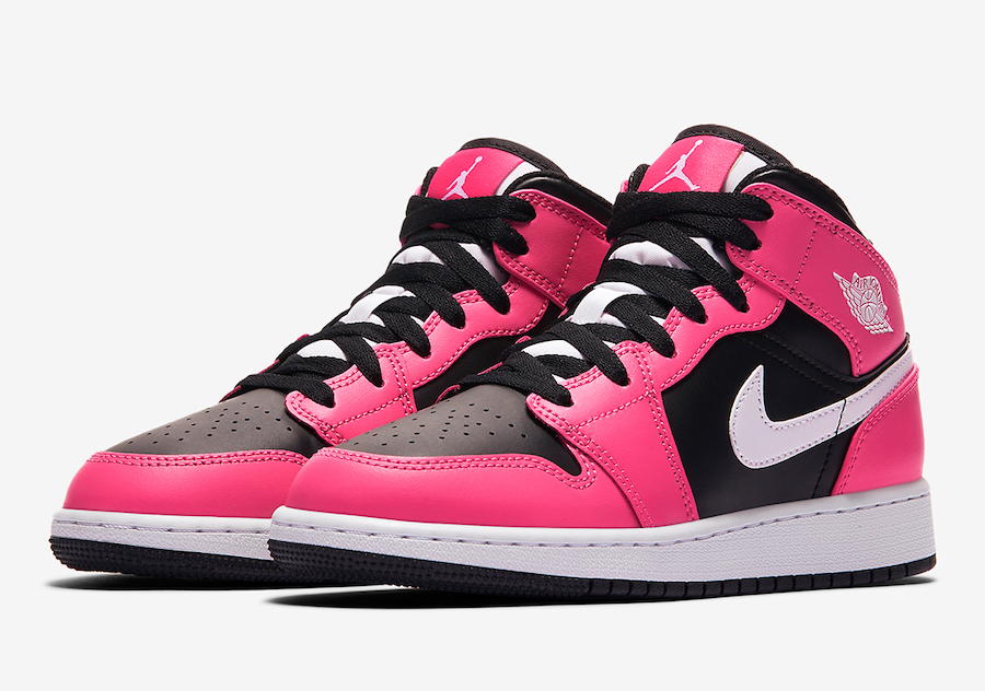 Air Jordan 1 Mid GS Pinksicle 555112