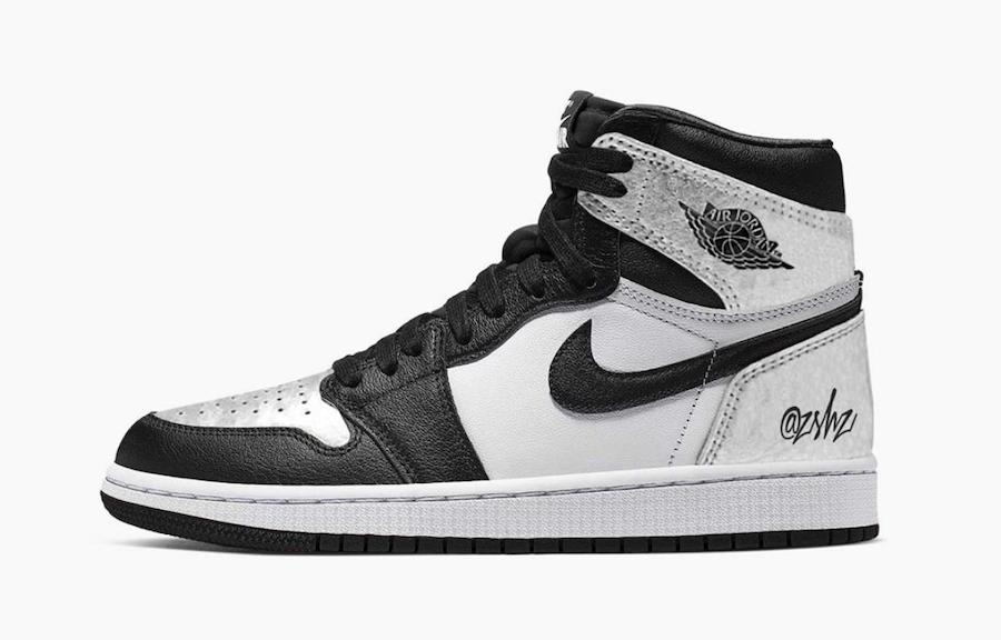 Air Jordan 1 Silver Toe CD0461-001 Release Date Info