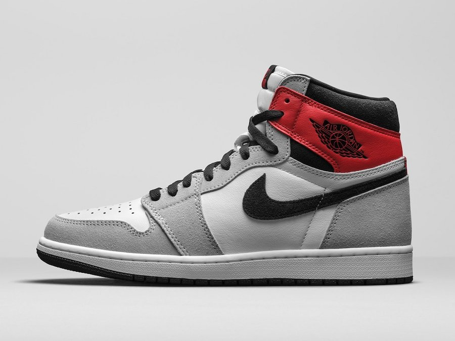 Air Jordan 1 Smoke Grey 555088-126 Release Date