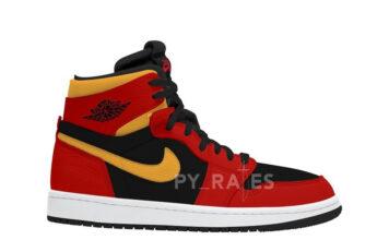 Air Jordan 1 Zoom Comfort Black Chile Red Release Date Info