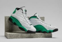 Air Jordan 13 XIII Lucky Green DB6537-113 Release Info