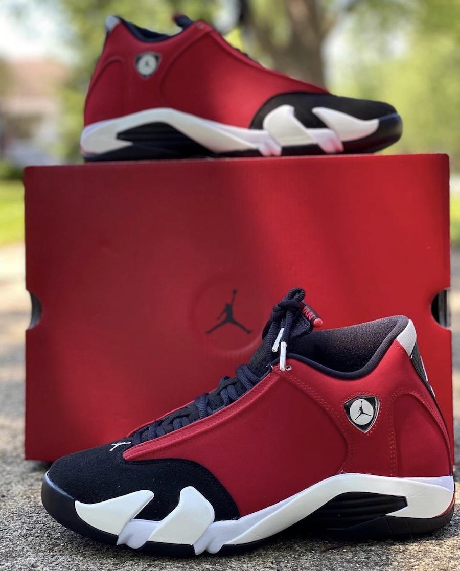 Air Jordan 14 Toro Gym Red 487471-006 New Release Date