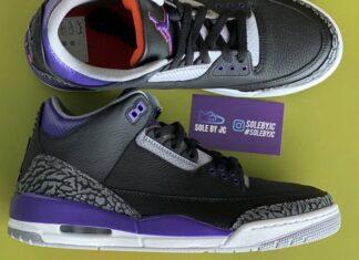 Air Jordan 3 Court Purple Suns CT8532-050