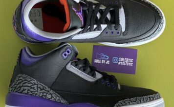 Air Jordan 3 Court Purple Suns CT8532-050