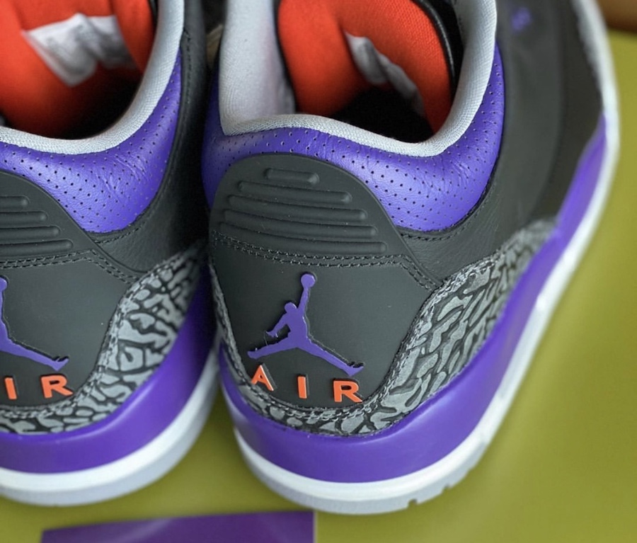 Air Jordan 3 Court Purple Suns CT8532-050 Release Date