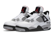 Air Jordan 4 Oreo White Tech Grey Black Fire Red CT8527-100 2021