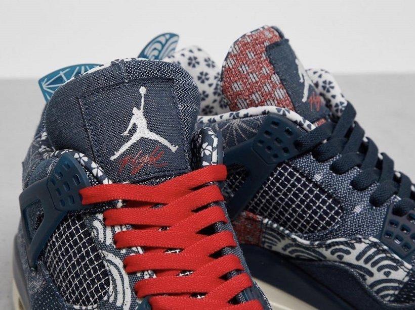 Air Jordan 4 Sashiko Deep Ocean CW0898-400 Release Date