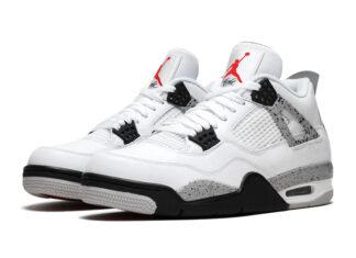 Air Jordan 4 White Cement CT8527-100 2021