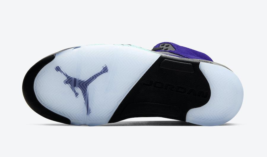 Air Jordan 5 Alternate Grape 136027-500 2020 Release Details