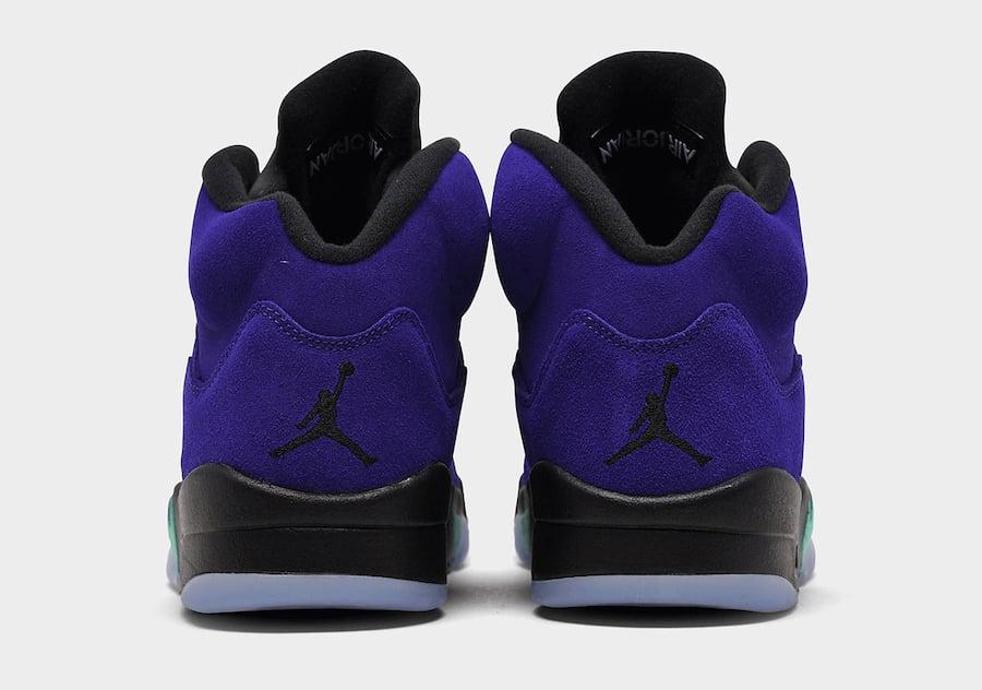 Air Jordan 5 Alternate Grape 136027-500 Release Details