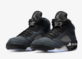 Air Jordan 5 Anthracite Wolf Grey Clear Black DB0731-001 2021 Release Date Info