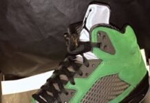 Air Jordan 5 Oregon CK6631-307 2020