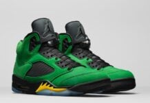 Air Jordan 5 Oregon CK6631-307 2020 Release Date