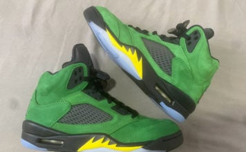 Air Jordan 5 Oregon Elevate CK6631-307