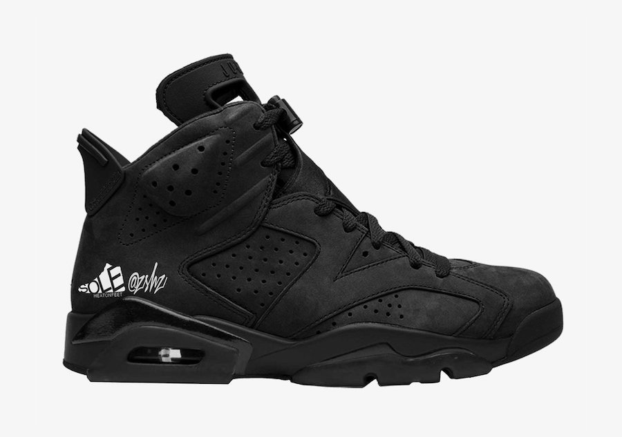 Air Jordan 6 SD Triple Black WMNS DB9818-001 Release Date Info