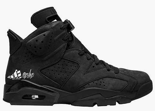 Air Jordan 6 SD Triple Black WMNS Release Date