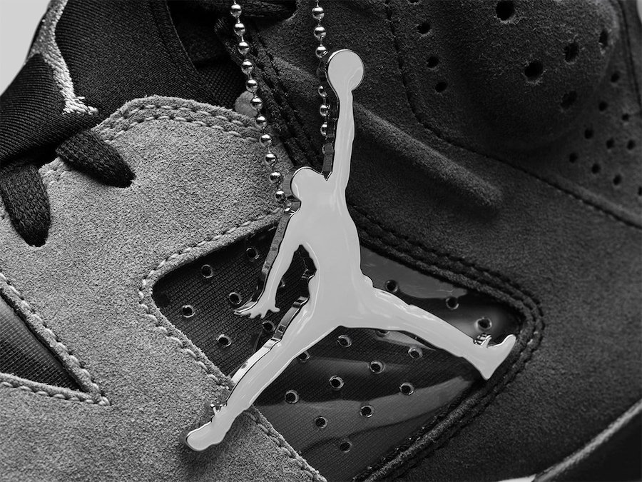Air Jordan 6 WMNS Black Light Smoke Grey Sail Chrome CK6635-001 Release Date Info