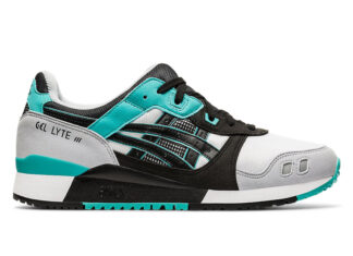 Asics Gel Lyte III White Turquoise Black Release Date Info