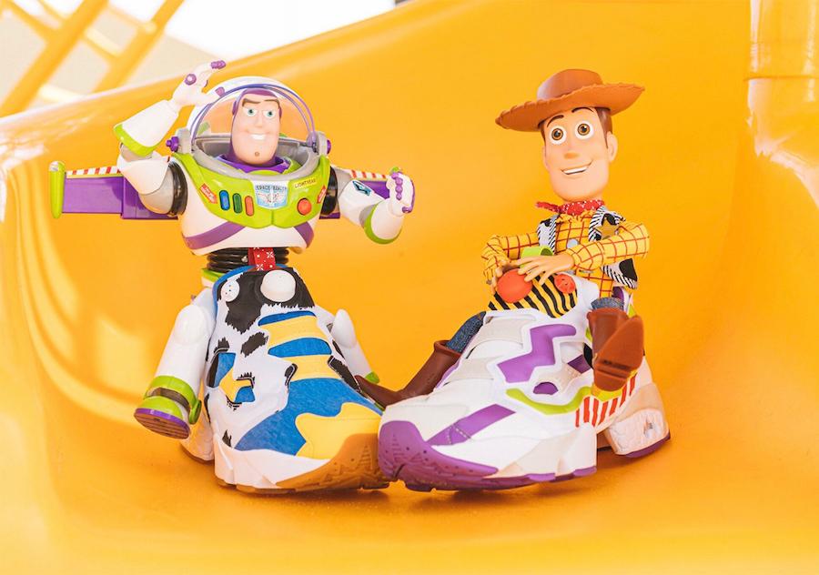 BAIT Toy Story Reebok Instapump Fury Release Date Info