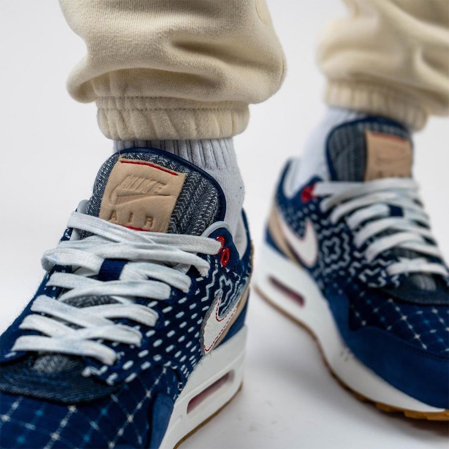 DENHAM Nike Air Max 1 CW7603-400 On Feet
