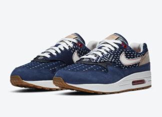 DENHAM Nike Air Max 1 CW7603-400 Release Info