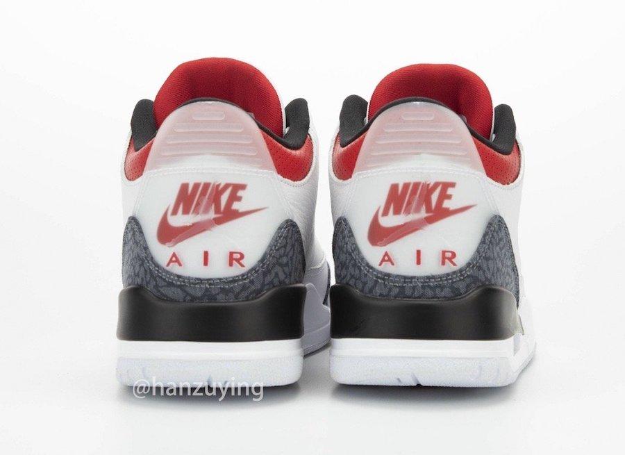 Fire Red Air Jordan 3 SE Denim CZ6431-100 Release Date