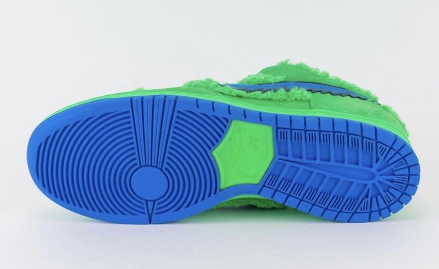 Grateful Dead Nike SB Dunk Low Green Bear CJ5378-300 Release