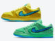 Grateful Dead Nike SB Dunk low Yellow Green Bear