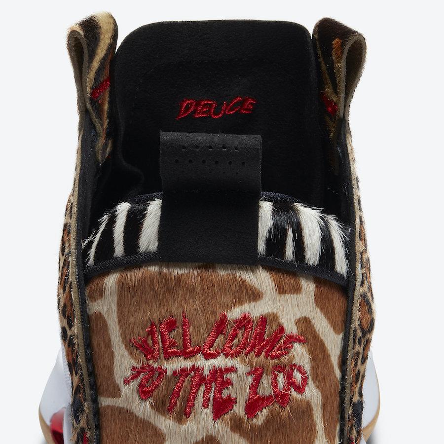 Jayson Tatum Air Jordan 34 Welcome to the Zoo PE DA1900-900 Release Date Info