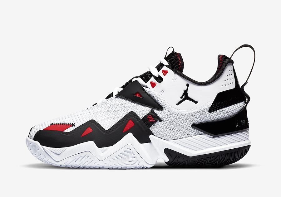 Jordan Westbrook One Take Black Toe CJ0781-101 Release Date Info
