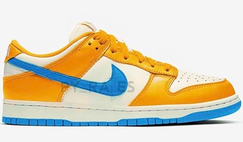 Kasina Nike Dunk Low Sail University Gold Industrial Blue Release Date