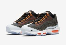 Kim Jones Nike Air Max 95 Black Total Orange Release Info
