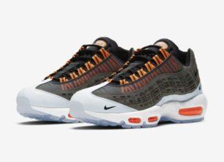 Kim Jones Nike Air Max 95 Black Total Orange Release Info