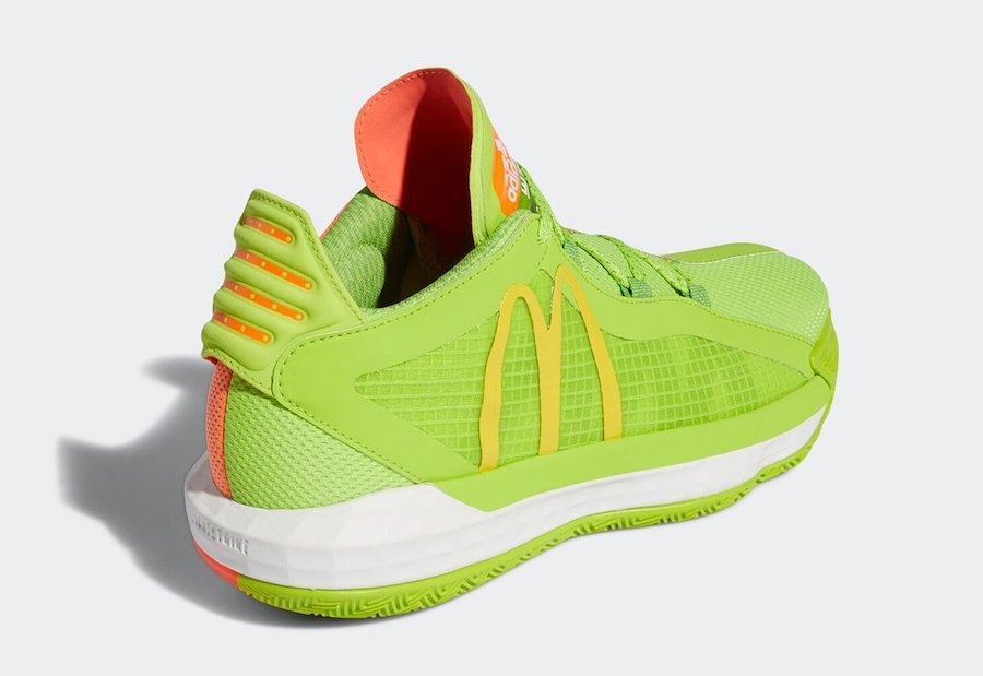 McDonalds adidas Dame 6 FX3334 Release Date Info