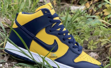 Michigan Nike Dunk High 2020 CZ8149-700 Release Date