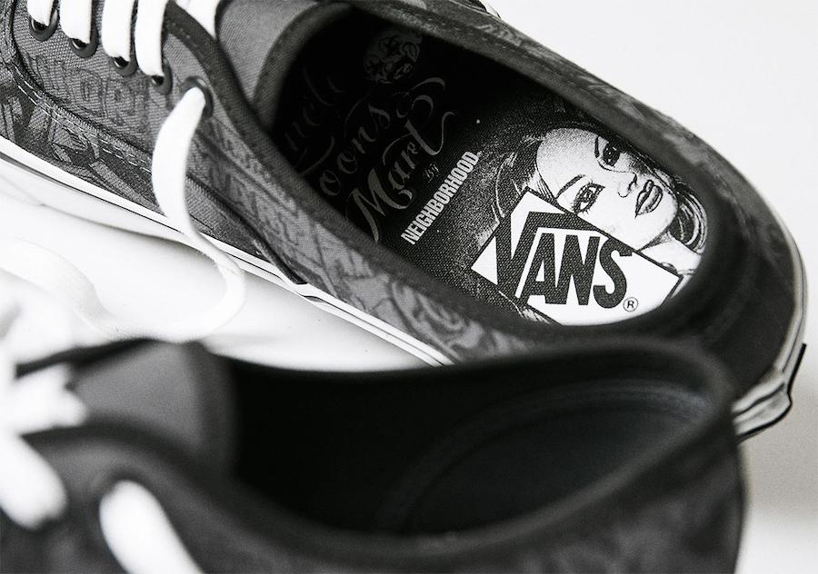 NEIGHBORHOOD Mister Cartoon Vans Vault Release Date Info