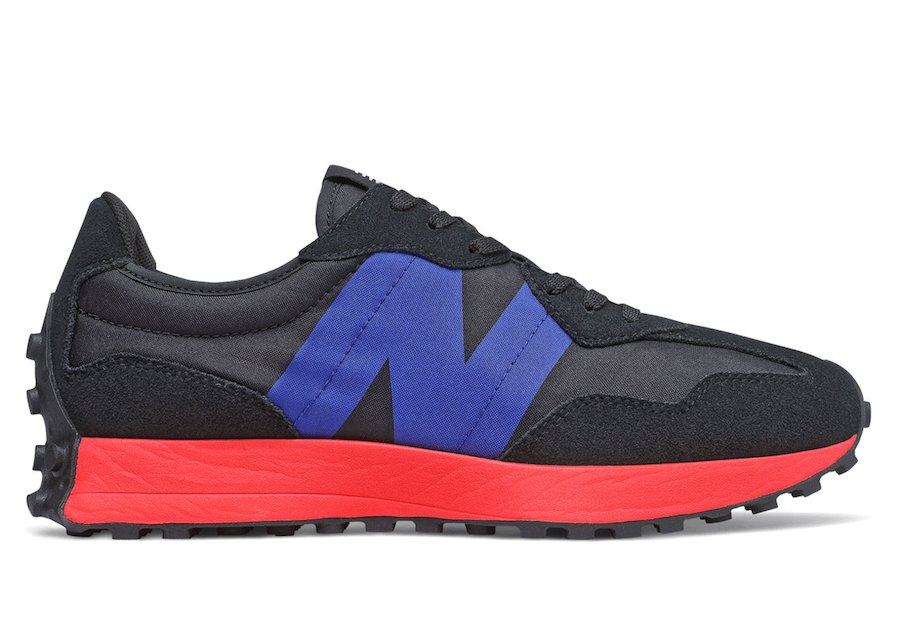 New Balance 327 Black Red Purple Release Date Info