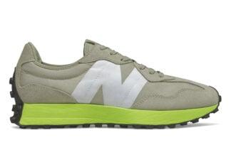 New Balance 327 Grey Neon Green Release Date Info