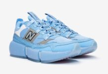 New Balance Vision Racer Blue Silver