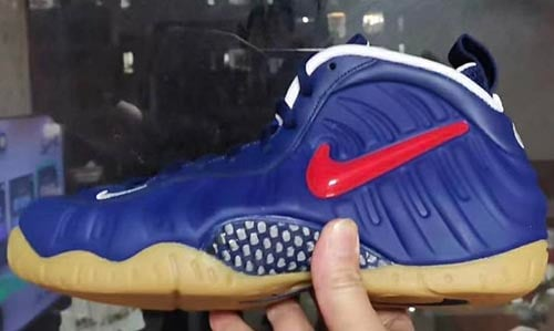 Nike Air Foamposite Pro Blue Void Gum Release Date