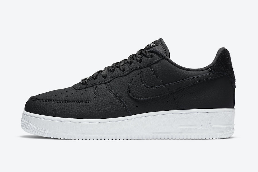 Nike Air Force 1 Craft Black CN2873-001 Release Date Info