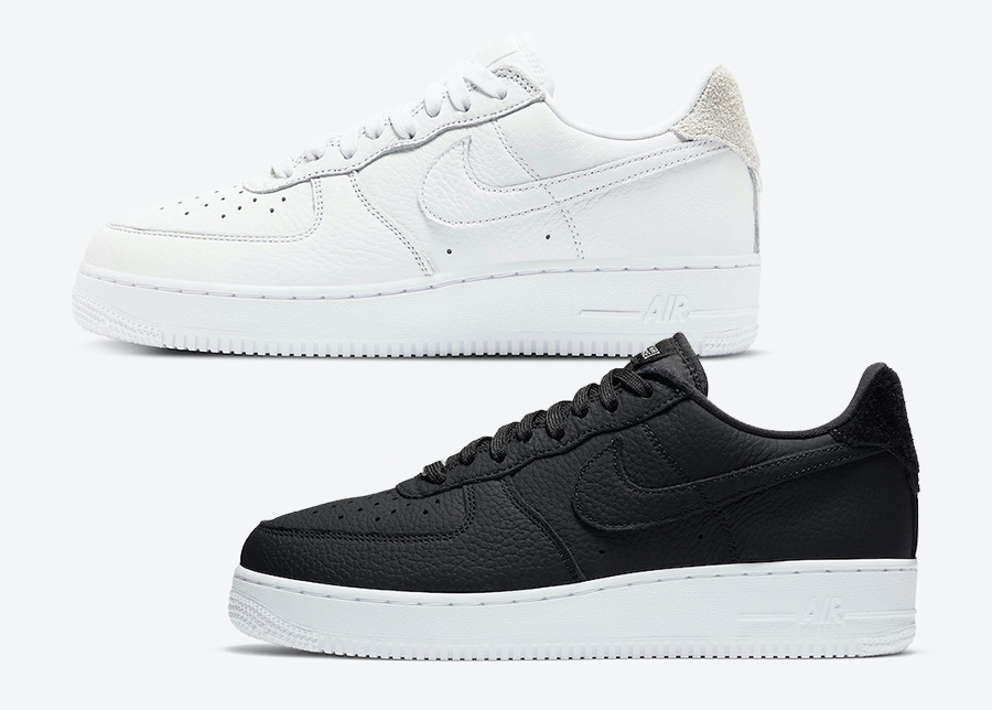 Nike Air Force 1 Craft White CN2873-101 Black CN2873-001 Release Date Info